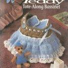 Annie's Attic-Crochet Teddy Tote-Along Bassinette