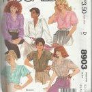 Plus Size Pattern-Misses Blouses-Sizes 22-24, Bust 44-46