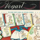 VOGART Transfer Pattern-The Bear Chef's Menu On Kitchen Towels