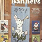 Plastic Canvas Patterns-Celebration Banners-Large Banners-Holidays-7 Count