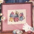 Cross Stitch Pattern Booklet-Sunbonnet Babies
