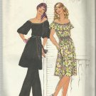 Vintage Pattern-Misses Dress or Tunic and Pants-Size 10