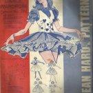 Vintage Pattern-Square Dance Wardrobe-Jean Hard Patterns-Sizes 6-20