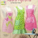 Pattern Booklet-RETRO APRONS by Taylor Made Designs-Multi-Size For Flattering Fi