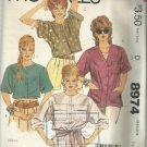 Vintage Pattern-Misses Shirts-Size Large