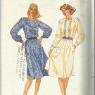 Vintage Pattern-Misses Dress in Size 12