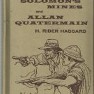 Vintage HB-King Solomon's and Allan Quatermain by H. Rider Haggard-1956
