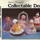 Doll Pattern Booklet-Anne Dougal's Collectible Dolls-Soft Sculpture-Adorable