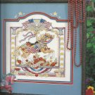 Cross Stitch Pattern Book-Carousel Horses in Cross Stitch-Beautiful Patterns