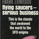 Frank Edwards-Flying Saucers-Serious Business-Original Coast To Coast Bestseller