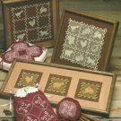 Cross Stitch Pattern Leaflet-Country Crossroads Filet Cross Stitch