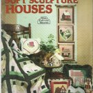 Vintage Craft Pattern Booklet-Quilted & Soft Sculpture Houses-Full Size Pattern
