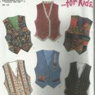 Pattern-New Look for Kids-Country Bumpkins-Vest in Sizes 7-12