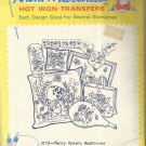Aunt Martha's Hot Iron Transfers-Merry Modern Mushrooms-Embroidery-Painting