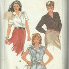 Vintage Plus Size Pattern-Women's Shirts-Sizes 40-42-44-46