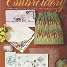 Vintage Embroidery Pattern Booklet-Cutwork-Hardanger-Cross Stitch-Swedish Darnin