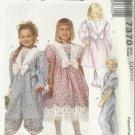 Pattern-Child's Dress & Jumpsuit-Sz 2-3-4