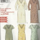 Pattern-Easy Options FIVE Dress Variations in ONE Pattern-Sizes 8-18