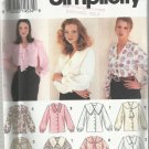 Pattern-Misses Blouse in Sizes 12-16    Spring & Summer