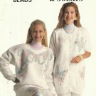 Fabric Painting-Liquid Beads-Sweaters & Sweats-Iron On Pattern Book by PLAID