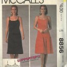 Vintage Pattern-McCall's-Supportops-Misses Summer Dress-Size Small-Stretch Knits