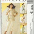 Pattern-Easy Non Stop Wardrobe-Misses Shirt-Jacket-Top-Pants-Sizes 10-12-14