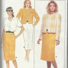 Pattern-Evan Picone Misses Jacket-Blouse-& Skirt in Sizes 6-8-10