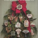 Cross Stitch Pattern Booklet-Victorian Christmas Treasure-Scrapbooking