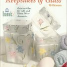 Keepsakes of Glass-Paint on Glass For Gifts & Home Decor-19 Designs