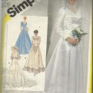 Plus Size Pattern-Misses Bride's or Bridesmaid Unlined Dress-Sizes 18-20