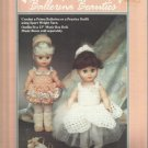 "Crochet Doll Clothing Pattern Leaflet-Prima Ballerina- Fit 13"" Music Box Doll"