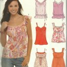Pattern-NEW LOOK-Misses Summer Tops-Sz 8-18  GREAT SUMMER PATTERN