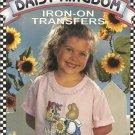 IRON ON TRANSFERS-Daisy Kingdom-Lesiure Arts-169 Pages
