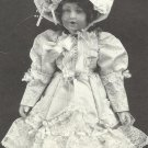 "Doll Dress Pattern-Michelle Dress-Slip-Bonnet-Dress-Pantaloons-Shoe for 24"" Doll"
