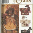 "Bear Doll & Clothes Pattern-31"" Bear Doll & Clothes-Hats-Jackets"