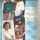 Pattern-Misses Tailored Shirt in Sizes 4-12