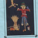 Duplicate Stitch Pattern-Fall, Scarecrow, Owl on Branch-Stitch on Sweater