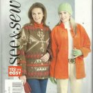 Pattern-Yes It's Easy See & Sew-Misses Jacket-Size L-XL