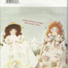 "Doll Pattern-Luv N Stuff-Heritage Dolls-17"" Doll in Two Versions"