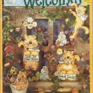 Decorative & Tole Pattern & Instruction Booklet-Windchimes-Weather Vanes Welcome
