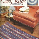 Crochet Rug Patterns-Easy Rugs To Crochet-Leisure Arts