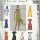 Pattern-8 Great Looks One Easy Pattern-Misses Dress in Two Lengths-Sizes 4-6-8