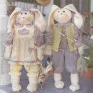 "Crafts Pattern-Designs by Connie Sherlock-37"" Bunny Greeters Dolls & Clothes"