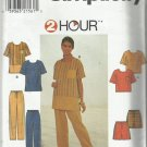 Pattern 2 Hour-Misses Tops-Pants or Shorts-Sizes 14-16-18