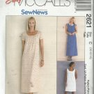 Pattern-Easy Sew News-Misses Dress Or Jumper In Two Lengths-Sizes 10-12-14