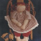 "Doll Pattern-GRACIE 21"" With Clothes From Bean Bag Baby Series by The Hen House"