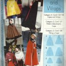 Pattern-Misses Capes & Wraps  in Sizes XS-SM-MD-LG-XL