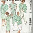 Vintage Plus Size Pattern-The Villager-Misses Jacket-Shirt-Skirt-Pants-Size 20
