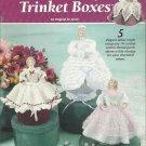 Crochet Pattern Booklet-Victorian Lady Trinket Boxes-5 Elegant Ladies-Valentines