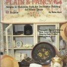 Folk Art Painting Plain & Fancy-Folk Art Decorative Painting For Home Decor-17 P